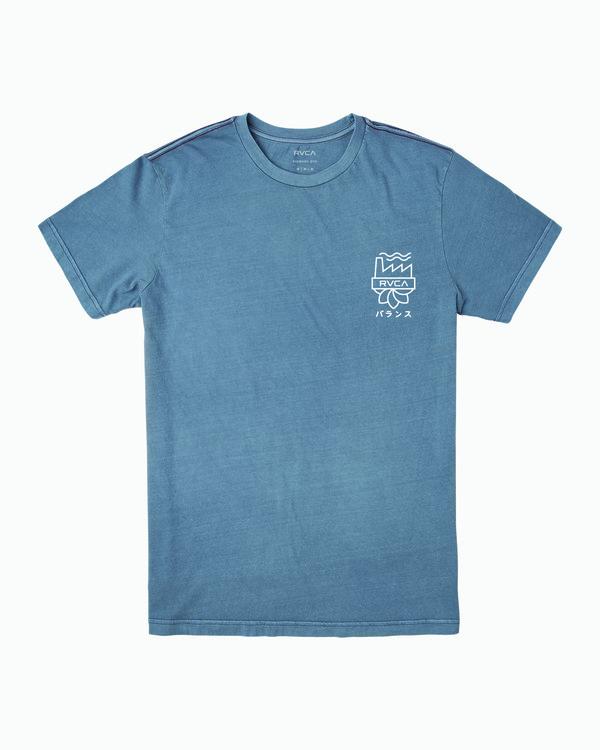 0 Yamamoto T-Shirt Blue M438WRYA RVCA
