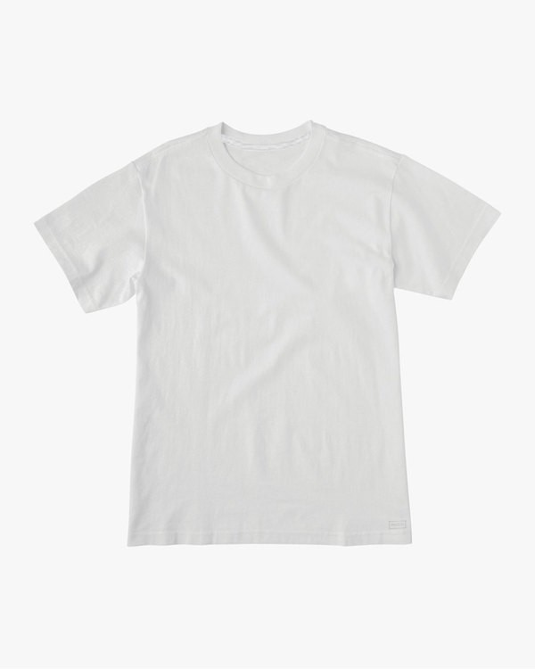 0 Hi-Grade Head Pocket T-Shirt White M447VRHE RVCA