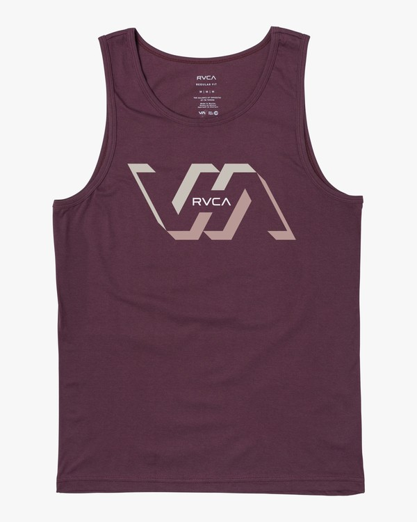 0 FACETS TANK Red M4813RFA RVCA