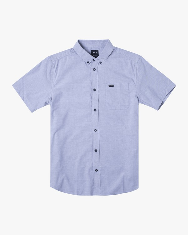 0 THATLL DO OXFORD STRETCH SHIRT White M5011ROS RVCA