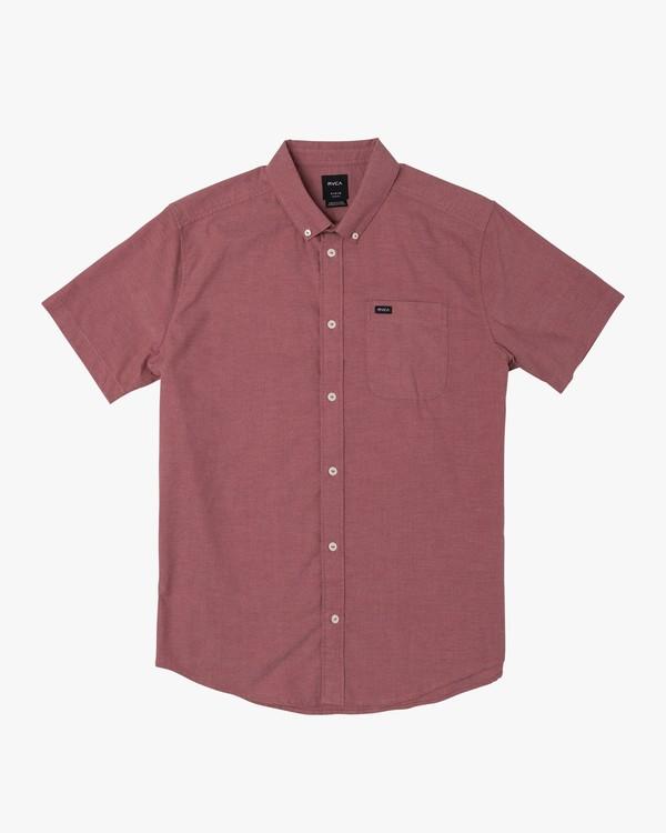 0 That'll Do Stretch Button-Up Shirt Brown M501VRTD RVCA