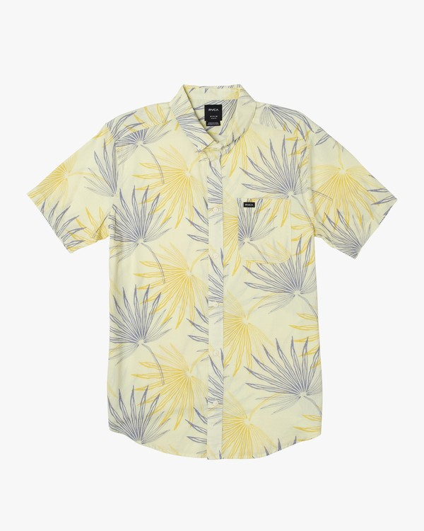 0 Tropical Palms Button-Up Shirt  M506WRTP RVCA