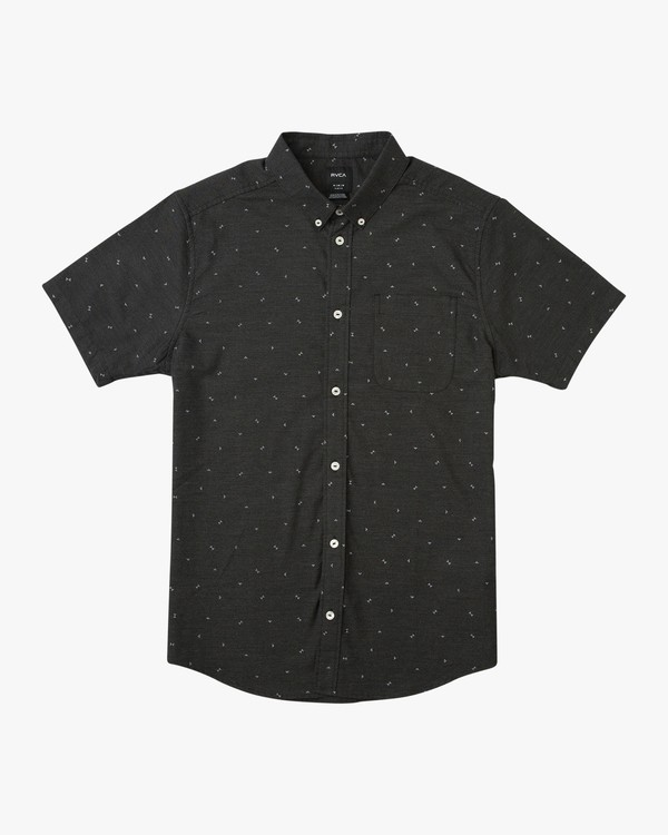 0 That'll Do Print Short Sleeve Shirt Black M508TRTP RVCA