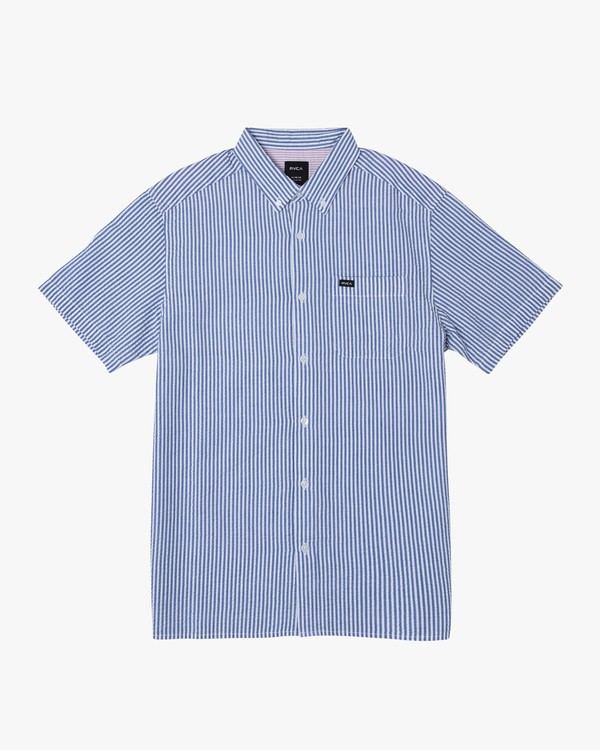 0 Mother Seersucker Button-Up Shirt  M556WRMS RVCA