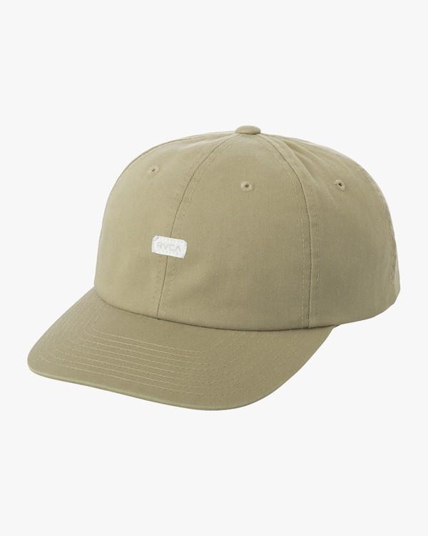 0 PLUS MINUS HAT Green M5CPNARVW8 RVCA