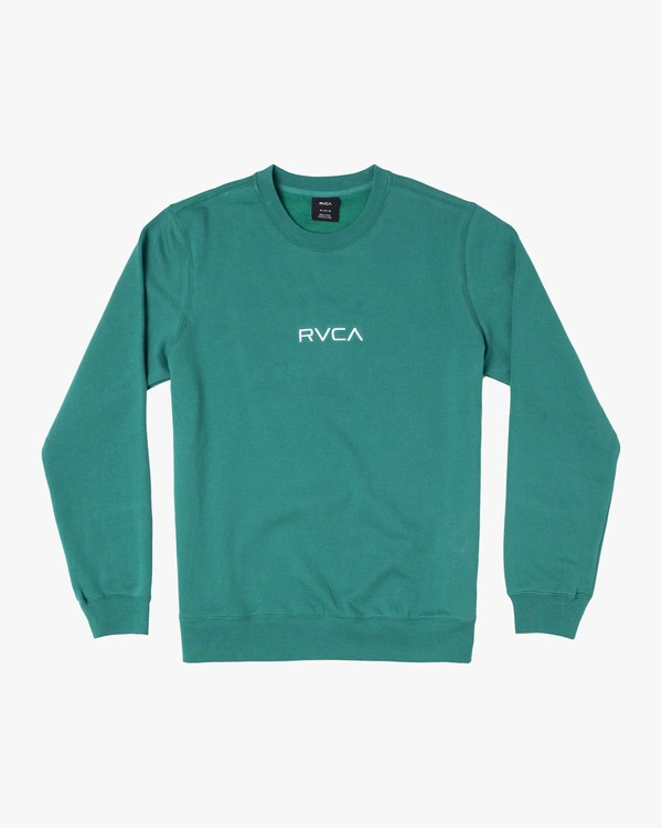 0 CENTER CREW Green M6081RCC RVCA