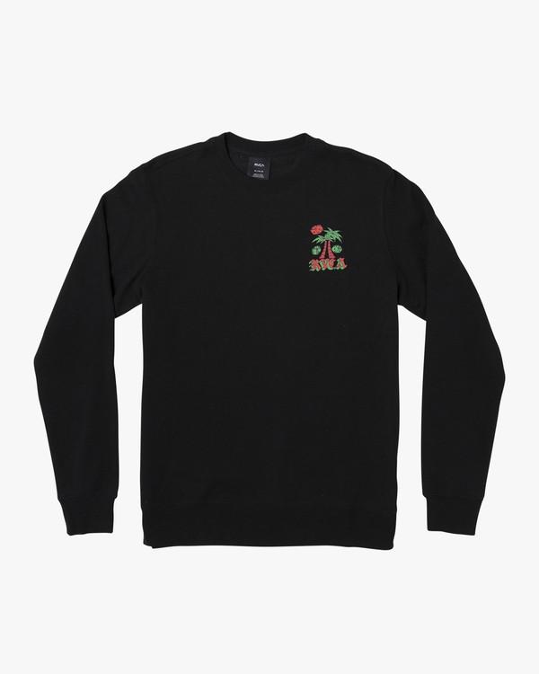 0 Crew Pack Sweatshirt Black M608WRCP RVCA