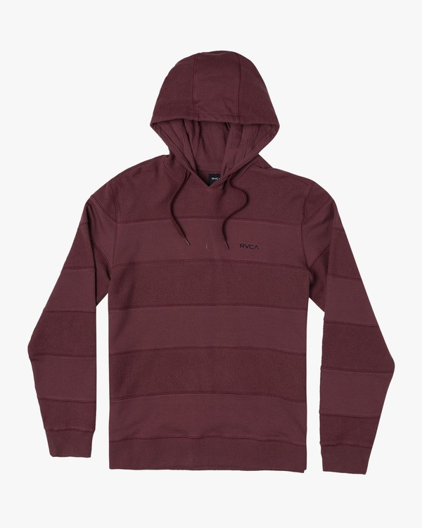 0 NEO HOODIE Red M6231RNE RVCA
