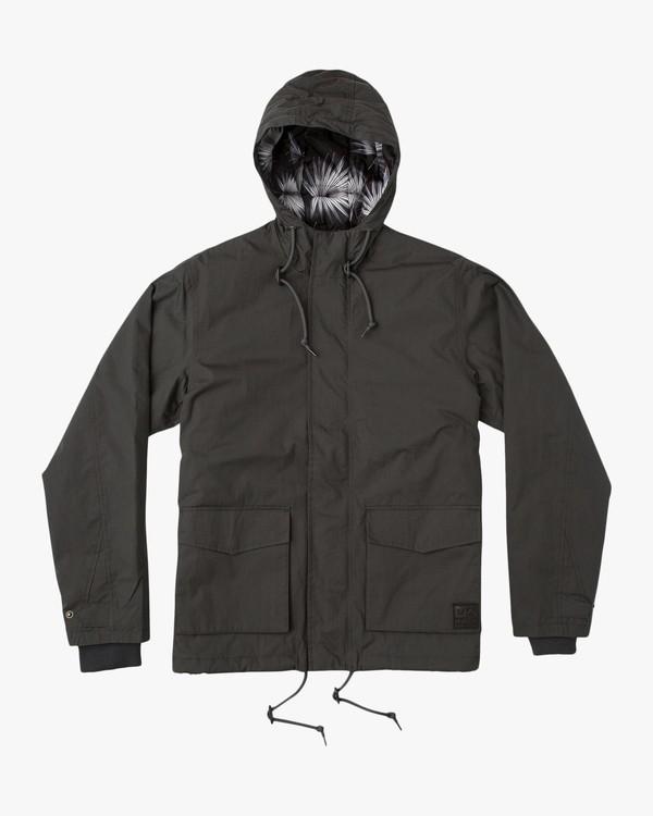 0 Puffer Parka Jacket Black M705QRPU RVCA
