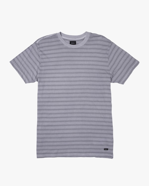 0 Saturation Stripe Knit T-Shirt  M901VRSS RVCA