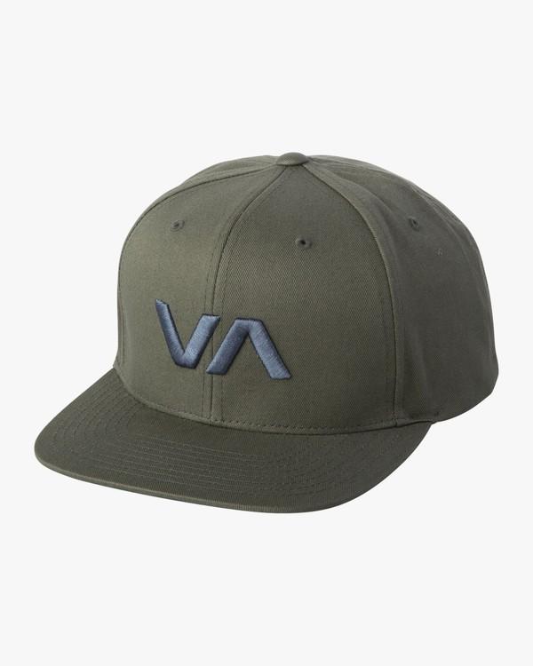 0 VA Snapback II Hat  MAAHWVAS RVCA