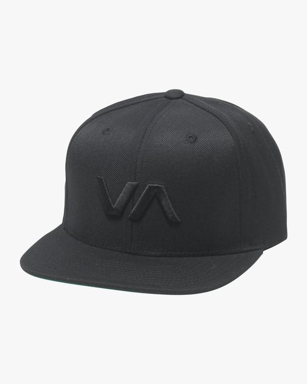 0 VA Snapback II Hat Black MAAHWVAS RVCA