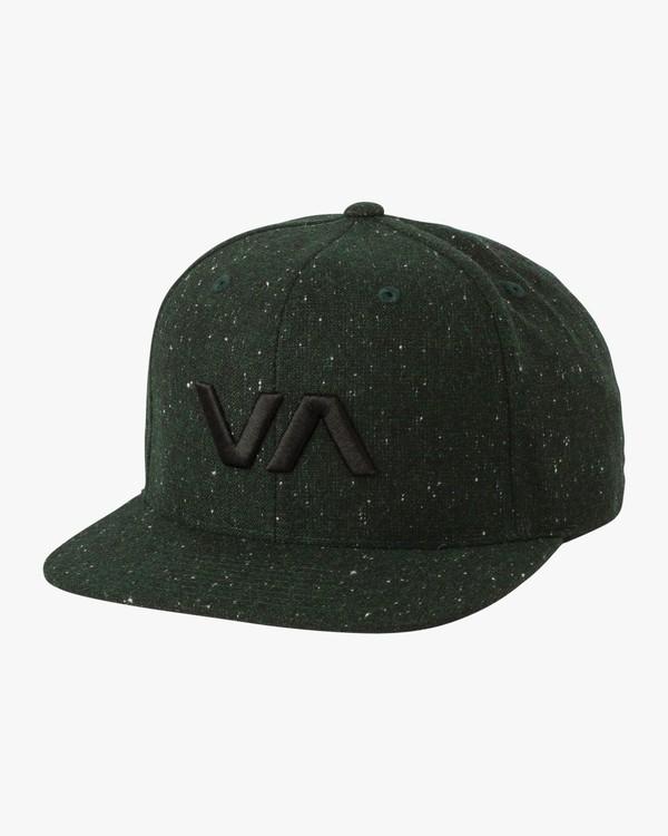 0 VA Snapback II Hat Green MAAHWVAS RVCA