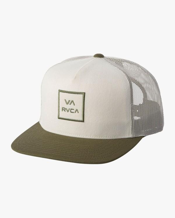 0 VA ALL THE WAY TRUCKER III HAT Beige MAAHWVWY RVCA