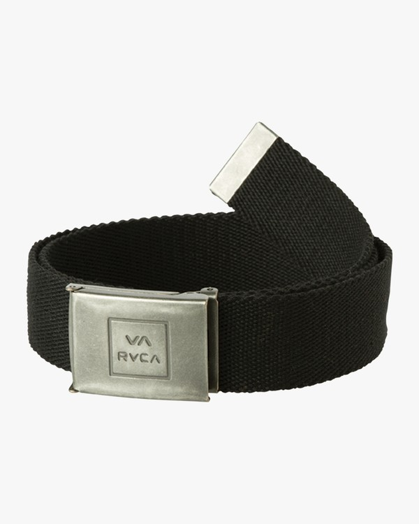 0 Falcon Web Belt Black MABLQRFW RVCA