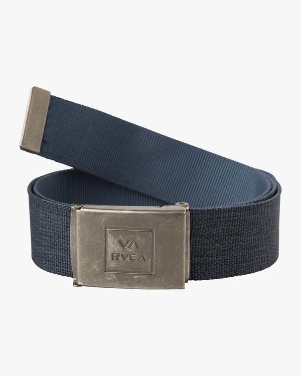 0 Falcon Web Belt Blue MABLQRFW RVCA