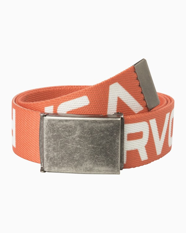 0 Neutral Web Belt Orange MABLQRNW RVCA