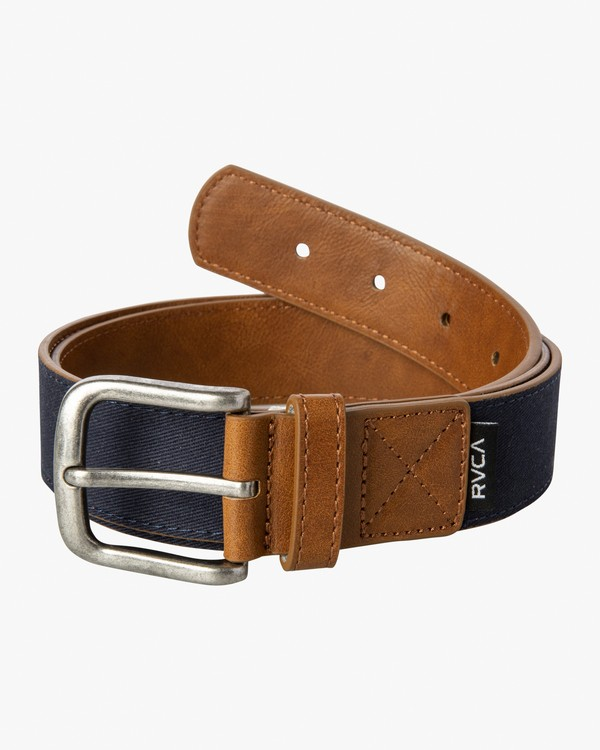 0 Leisure Belt Blue MABLVRLB RVCA