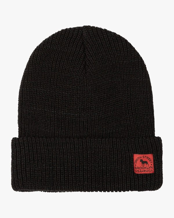 0 Smith Street Beanie Black MABNVRSS RVCA