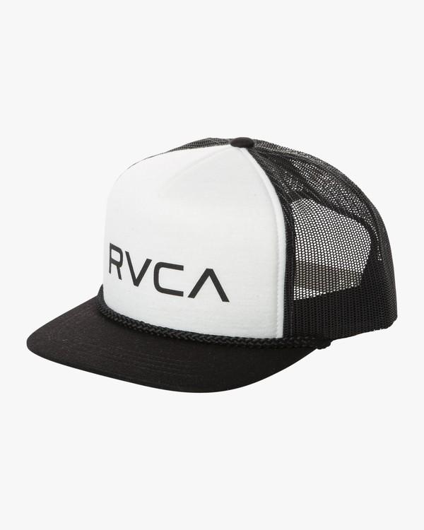 0 RVCA FOAMY TRUCKER HAT Black MAHW1RFT RVCA
