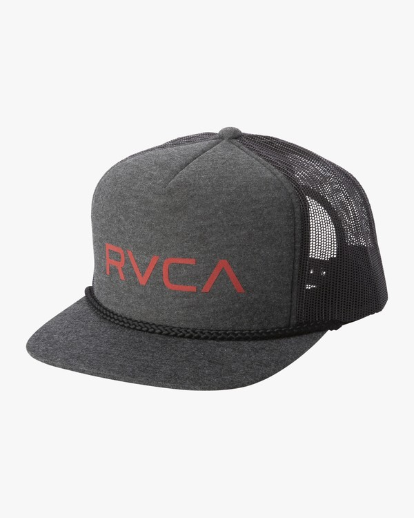0 RVCA FOAMY TRUCKER HAT Brown MAHW1RFT RVCA