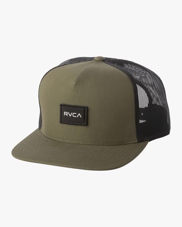 0 NEO TRUCKER HAT Green MAHW1RNT RVCA