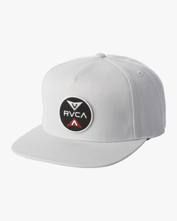 0 POINTS SNAPBACK HAT Grey MAHW1RPS RVCA