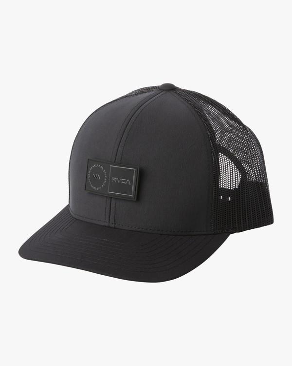 0 PLATFORM TRUCKER HAT Black MAHW1RPT RVCA