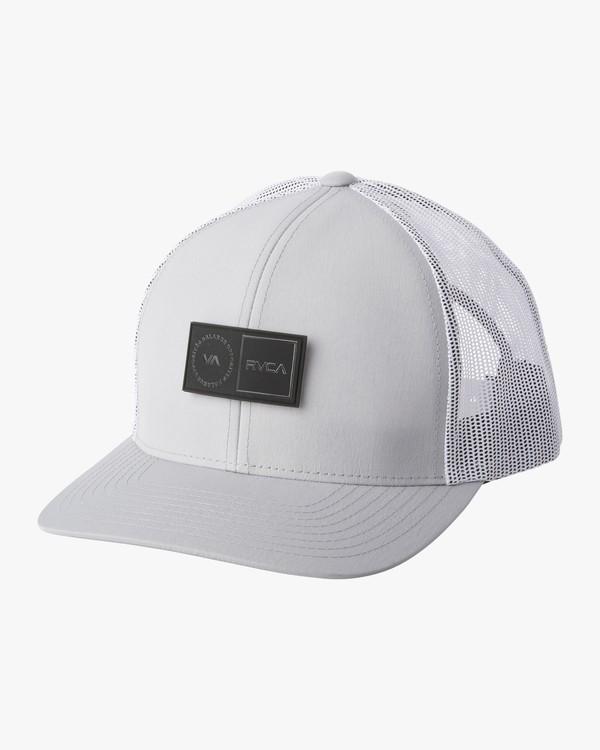 0 PLATFORM TRUCKER HAT Grey MAHW1RPT RVCA