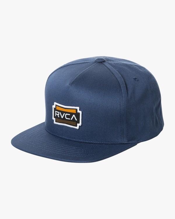 0 DEMO SNAPBACK Blue MAHW2RDS RVCA