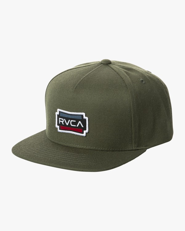 0 DEMO SNAPBACK Brown MAHW2RDS RVCA