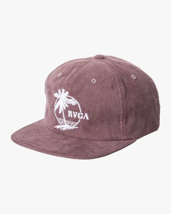0 RIG CAP Purple MAHW2RRC RVCA