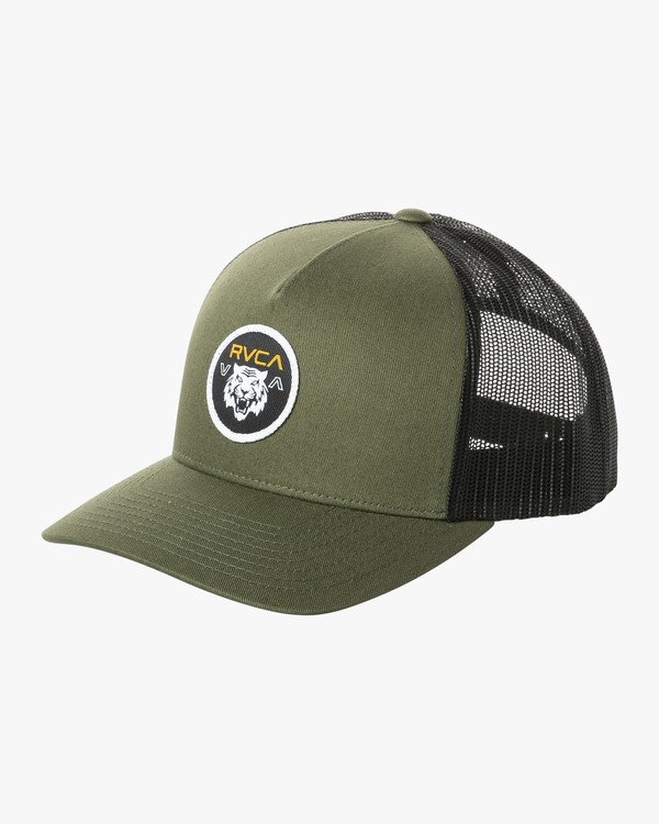 0 SABER CURVED TRUCKER Green MAHW2RST RVCA