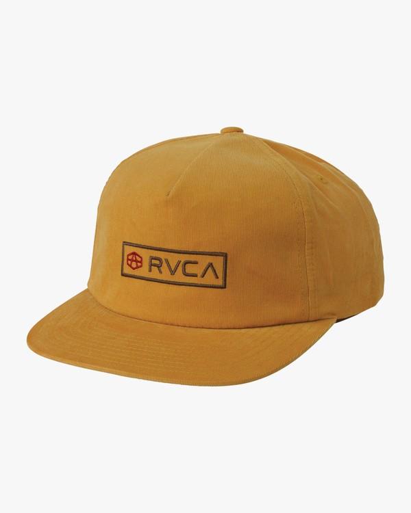 0 Andrew Reynolds Corduroy Cap Beige MAHWQRQR RVCA