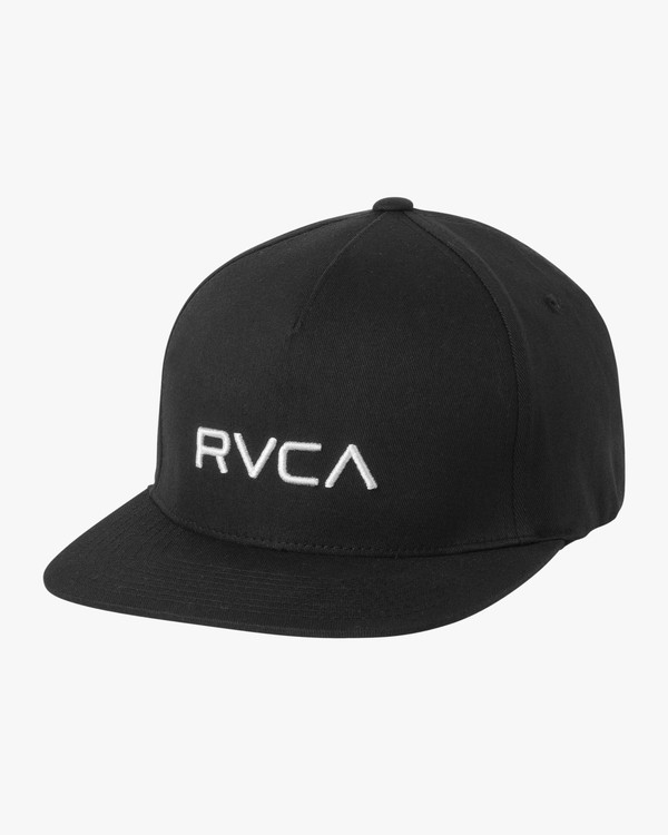 0 RVCA Sport Flexfit Hat Black MAHWQRSF RVCA