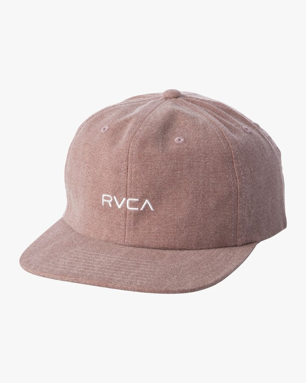 0 TONALLY EMBROIDERED HAT Brown MAHWQRTL RVCA