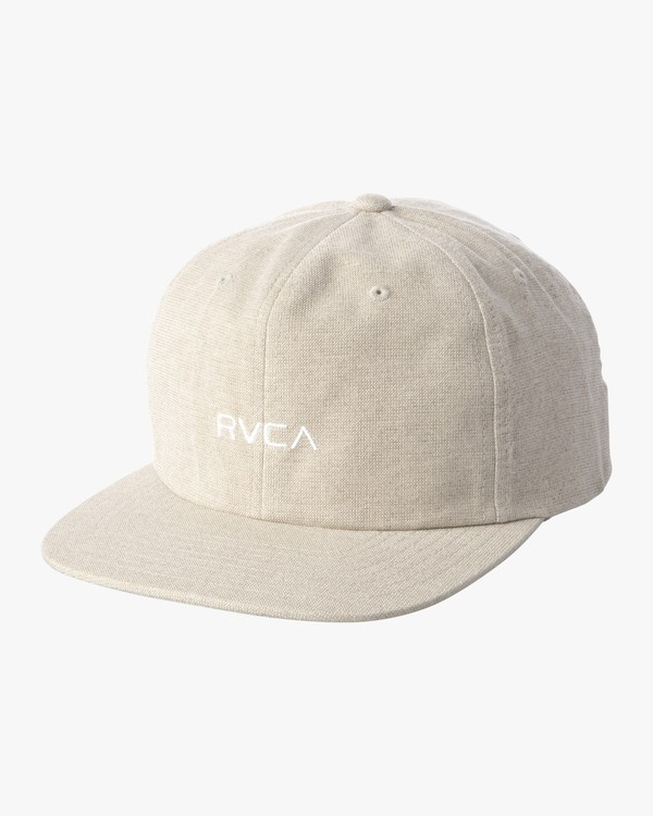 0 TONALLY EMBROIDERED HAT Green MAHWQRTL RVCA