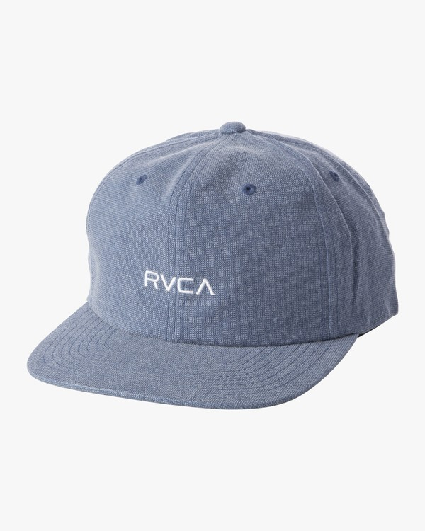 0 TONALLY EMBROIDERED HAT Blue MAHWQRTL RVCA