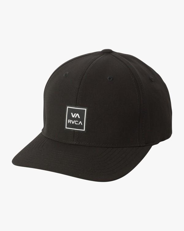 0 Warner Flex Fit Hat  MAHWSRWF RVCA
