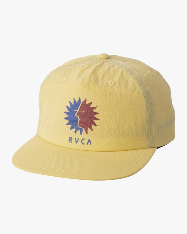 0 GRAPHIC PACK SNAPBACK HAT Yellow MAHWTRGP RVCA