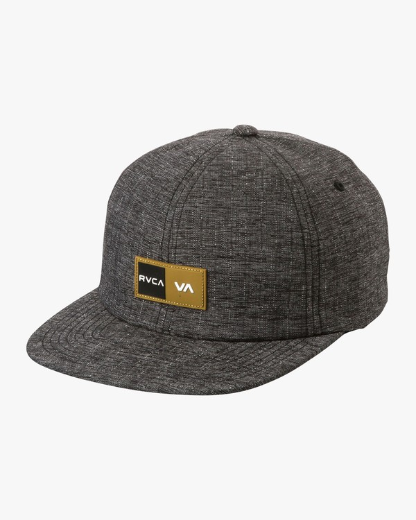 0 Balance Box Flex Fit Hat Grey MAHWURBB RVCA