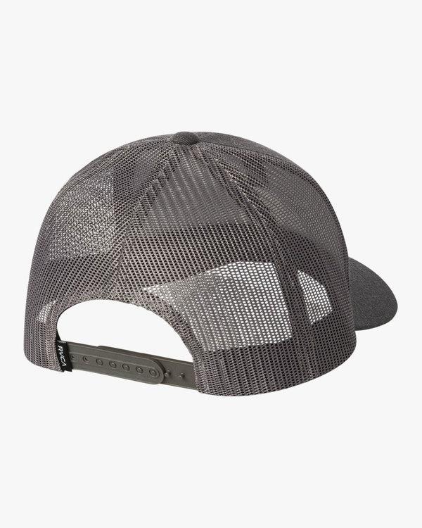 0 Volume Trucker Hat Grey MAHWURVT RVCA