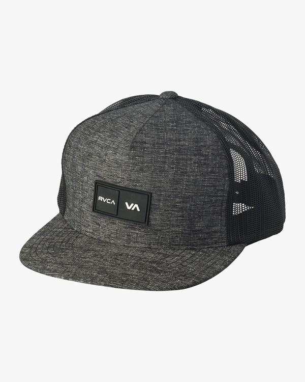 0 Balance Trucker Hat Grey MAHWVRBT RVCA