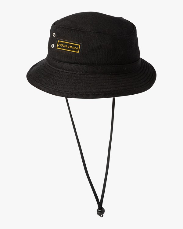0 Deeps Bucket Hat Black MAHWVRDB RVCA