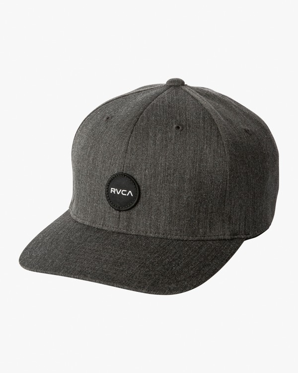 0 Mini Motors Flex Fit Hat Grey MAHWVRMM RVCA