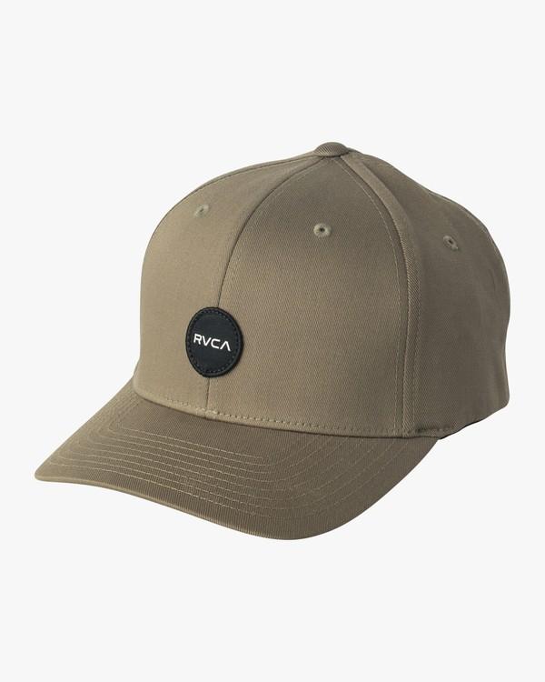 0 Mini Motors Flex Fit Hat Green MAHWVRMM RVCA