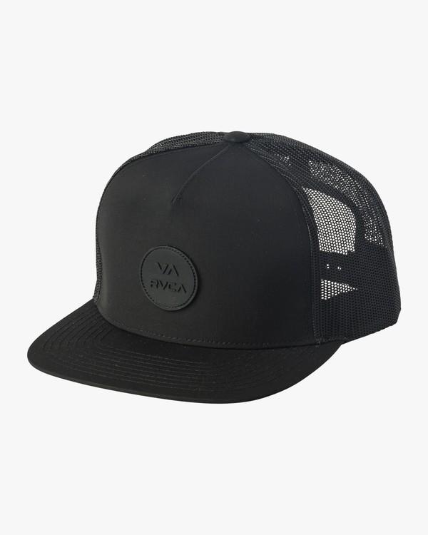 0 RVCA Sphere Trucker Hat Black MAHWVRRS RVCA