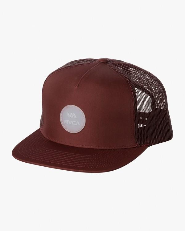 0 RVCA Sphere Trucker Hat Purple MAHWVRRS RVCA
