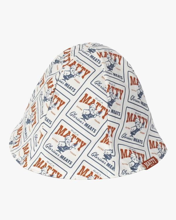 0 MATTYS BUCKET HAT White MAHWWRMB RVCA