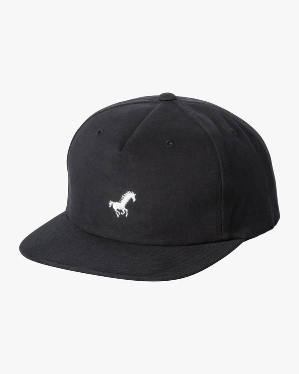 0 Spanky Okapi Snapback Hat Blue MAHWWROS RVCA